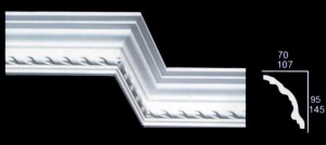 Small Braided Cornice