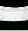 Medium Egg and Dart Curved Cornice