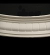 Large Dentil Curved Cornice